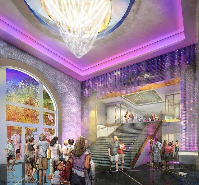 Planet Hollywood rendering