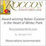 Rocco foodie banner