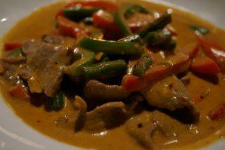 Blue elephant curry