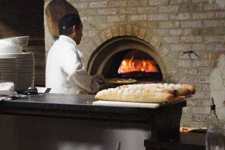Francescos pizza oven