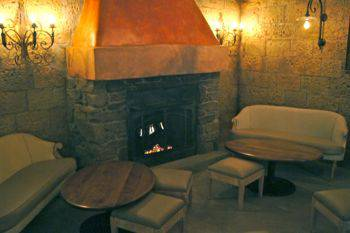 Tutto Gusto fireplace