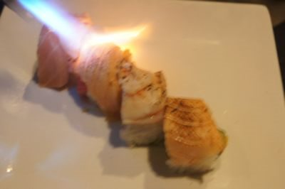 Sushi House seared
