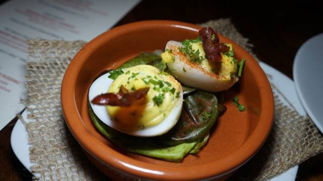 Boheme Supper Club eggs