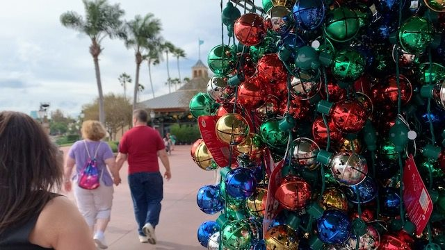 Epcot Holiday bells
