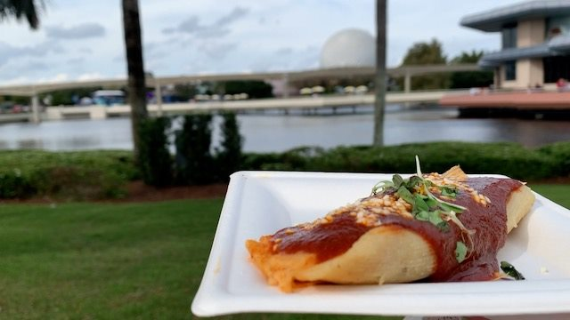Epcot Holiday tamal