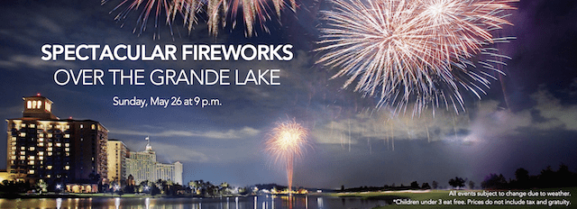 Full Weekend Of Memorial Day Events At Grande Lakes Orlando