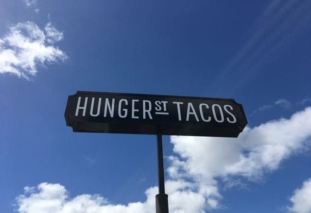Hunger Street sign