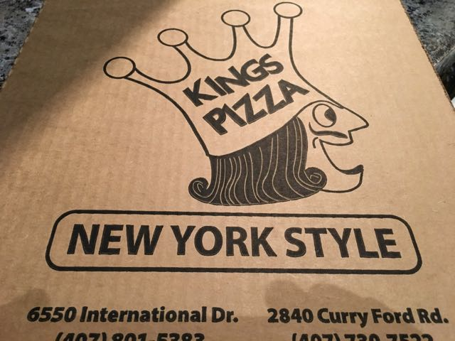Kings Pizza box
