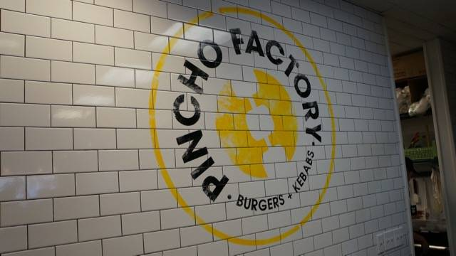 Pincho Factory sign
