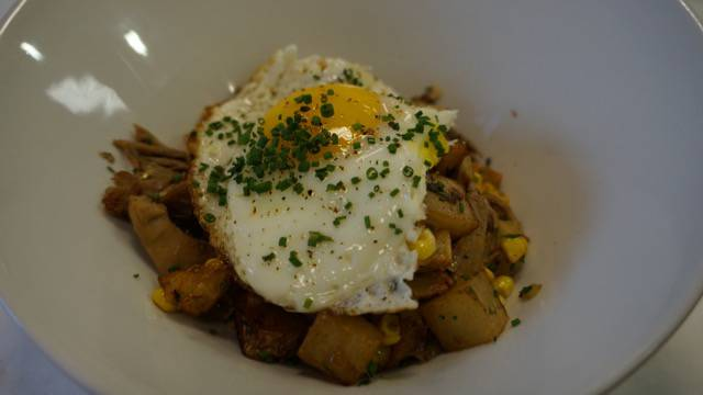 Two Chefs Brunch Duck Hash
