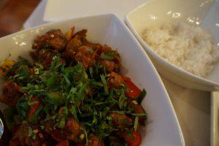 Raga chili fried beef