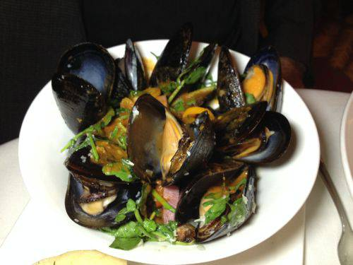 caligrill 14 mussels